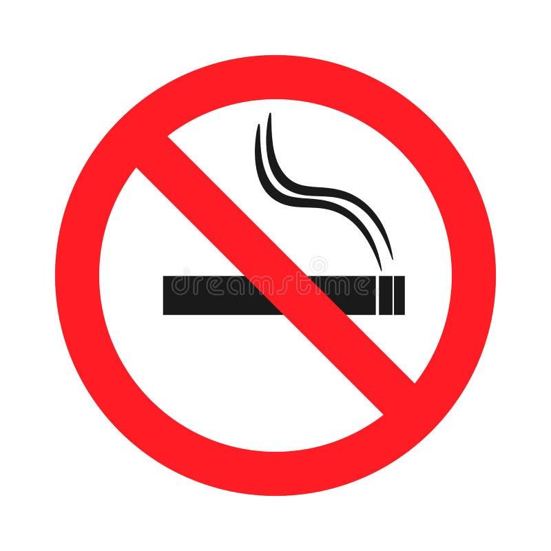 Deixe o ` s dizer o fumo da parada Tome do senhor mesmo ilustração do vetor