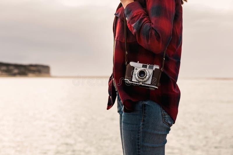 Deixe o ` s tomar algumas imagens fotografia de stock