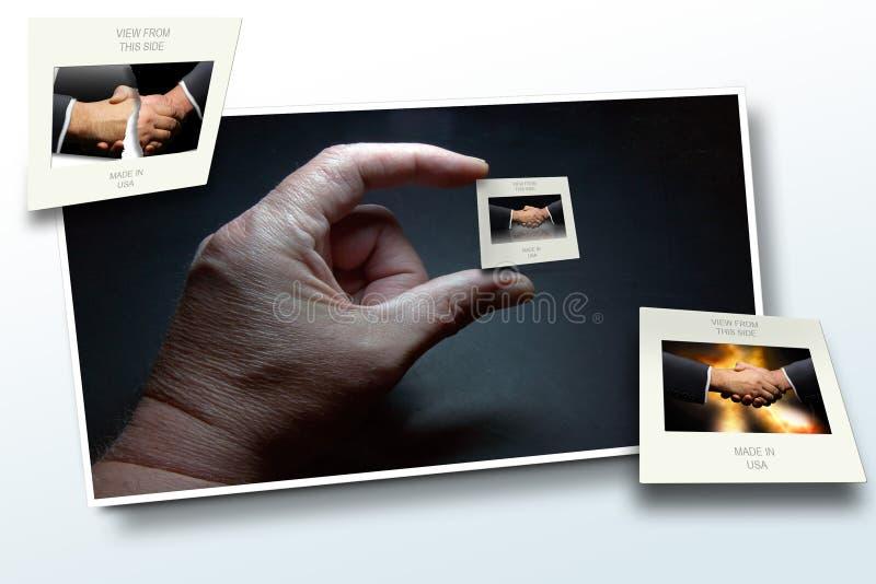 Deja sacudida y caída fotos de archivo