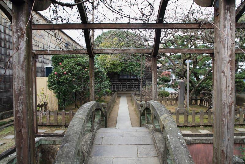 Dejima-Insel in Nagasaki lizenzfreie stockfotos