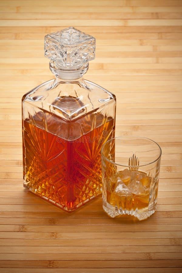 dekantatoru napoju whisky fotografia royalty free