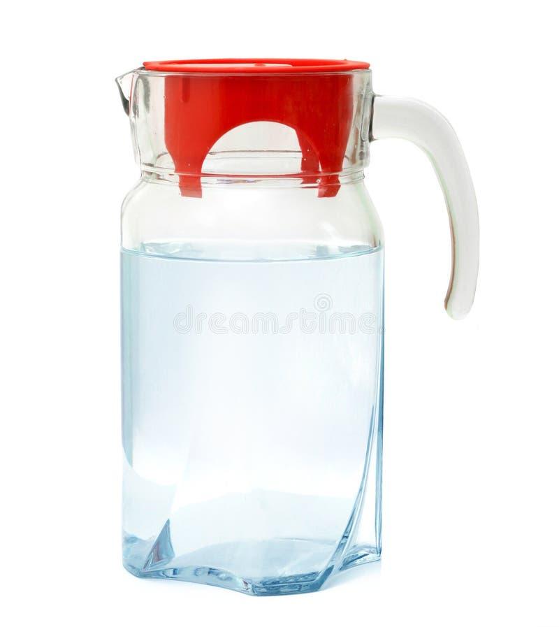 Dekantiergefäß mit Wasser stockbilder