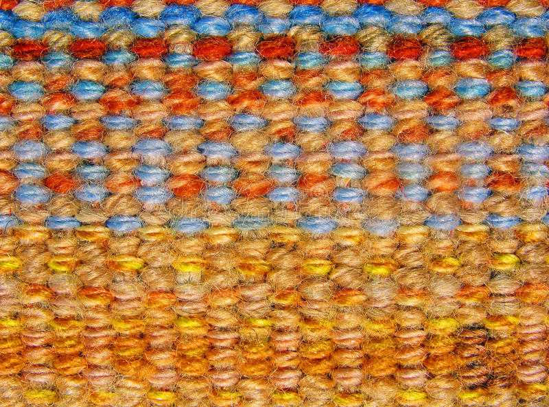 Dekentextuur & Kleur - Macro stock afbeelding
