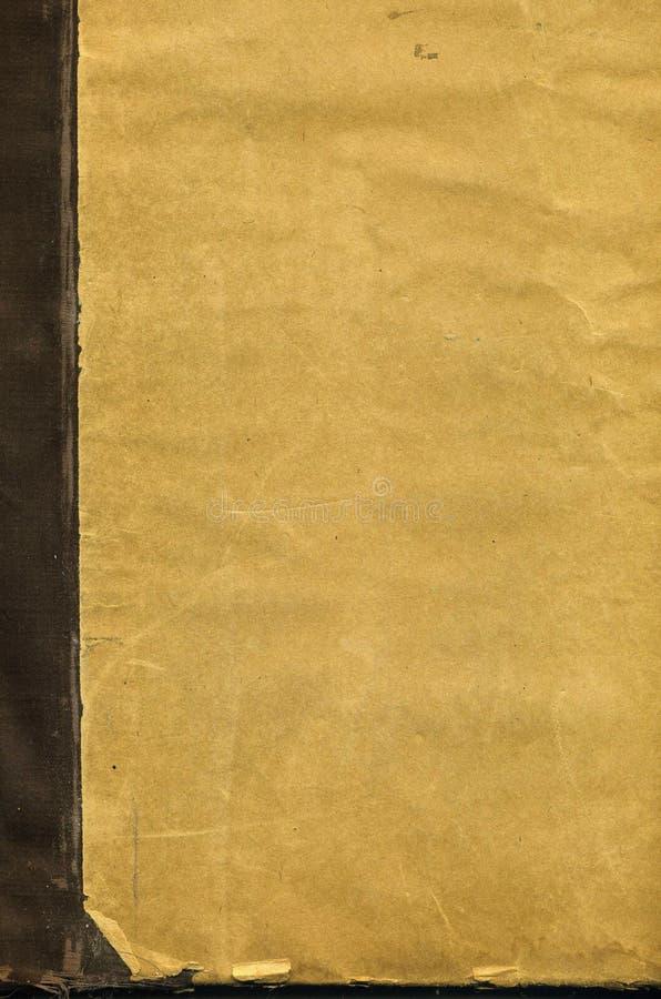 Dekking van een oud boek stock illustratie