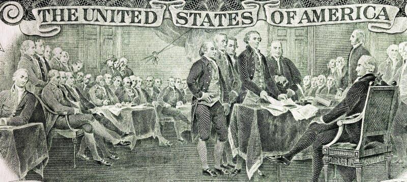 deklaraci niezależność ilustracja wektor
