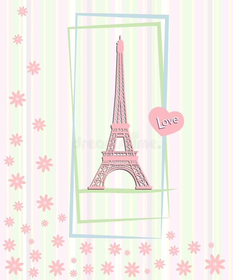 Deklaracja miłość. ilustracja wektor