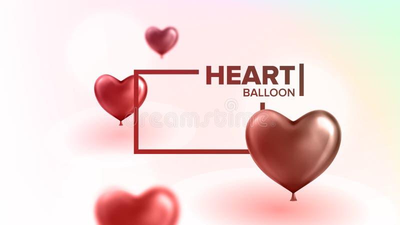 Deklaracja miłość Piękny Pocztówkowy wektor ilustracja wektor