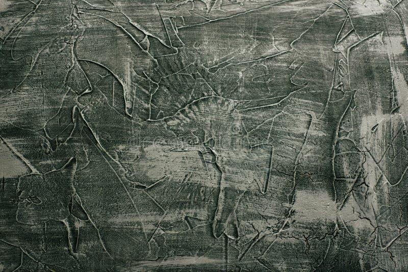 Dekor för bakgrund för murbruk för dramatisk grå sömlös stentextur för grunge venetian arkivfoto