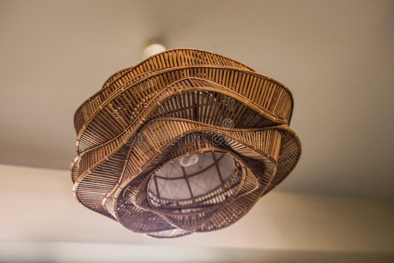 Dekor för tappningbelysninglampa arkivbild