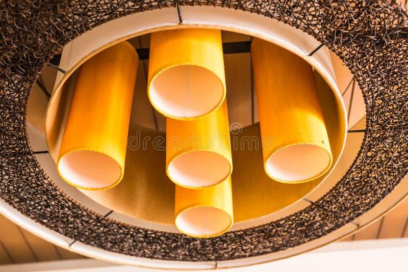 Dekor för tappningbelysninglampa royaltyfria bilder