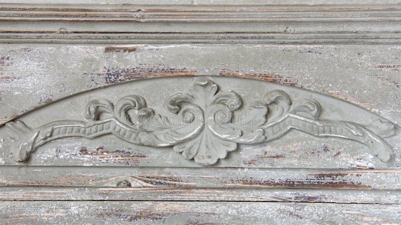 Dekor träskulptur av ljus textur royaltyfria bilder