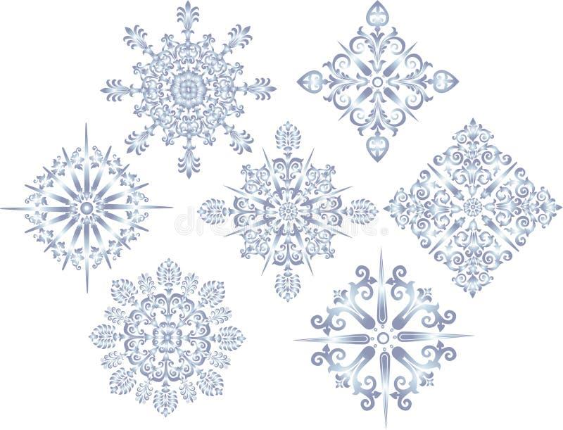 dekoraci błękitny inkasowa gwiazda royalty ilustracja