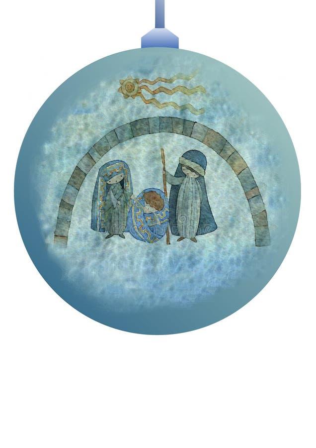 dekoraci balowy drzewo ilustracja wektor