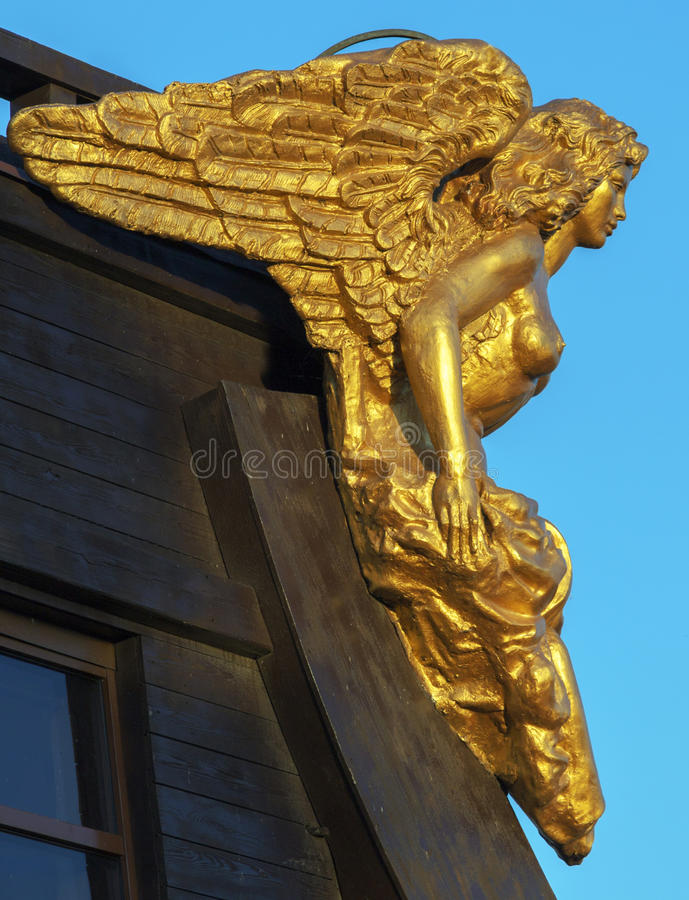 Dekoraci mównicy rzeźba obrazy royalty free
