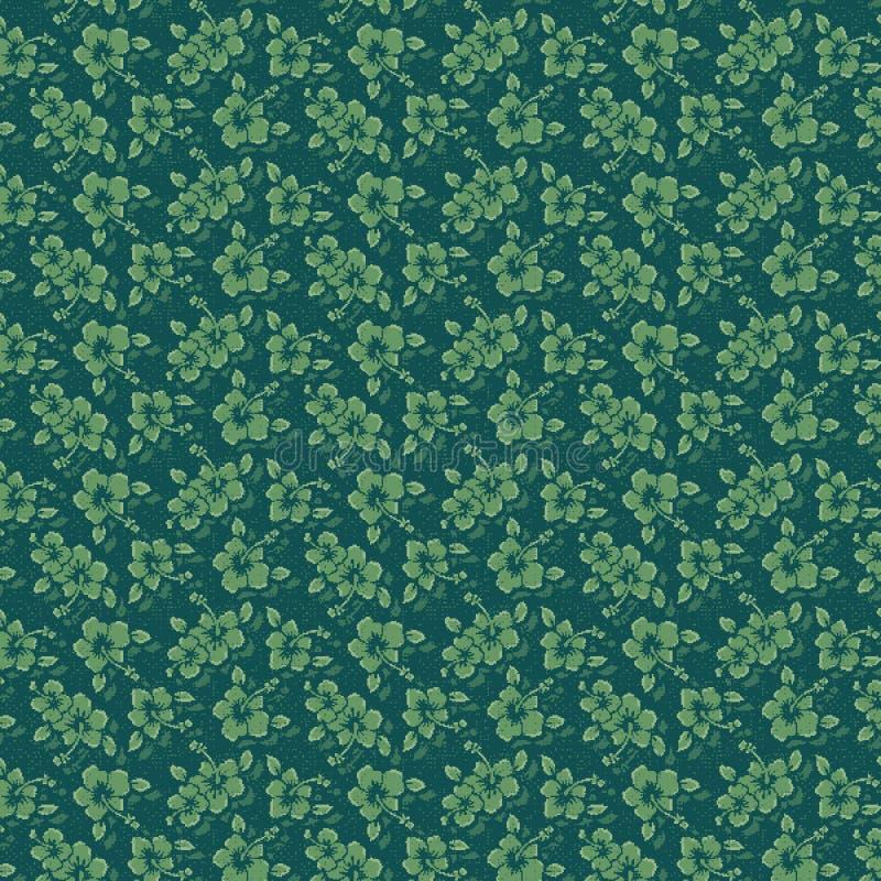 dekoraci zieleni wzór royalty ilustracja