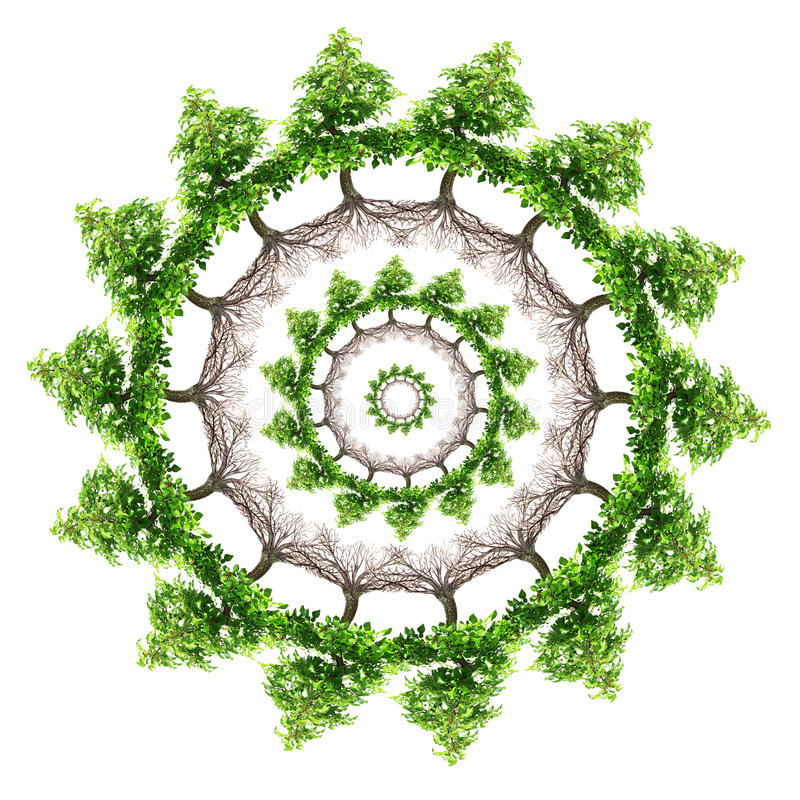 dekoracja środowiskowa ilustracja wektor