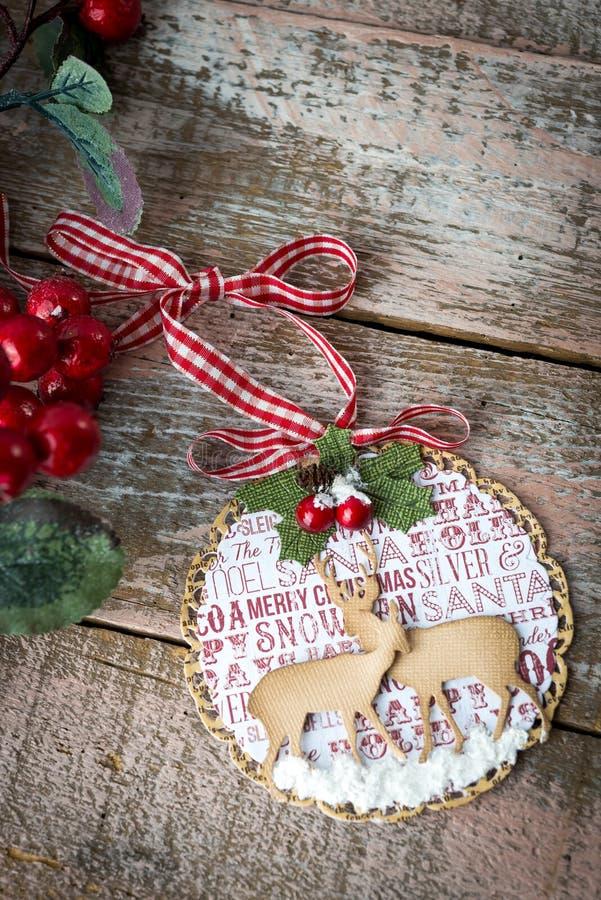 dekoracja Boże Narodzenie dekoracja fotografia stock