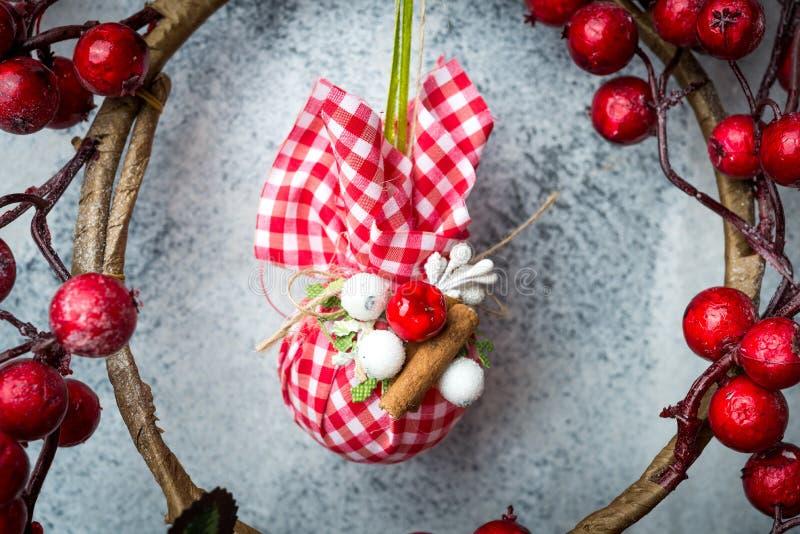 dekoracja Boże Narodzenie dekoracja obrazy stock