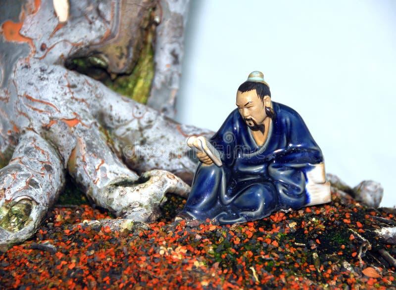 dekoracja bonsai zdjęcie stock