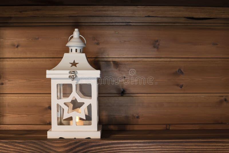 Dekoracja domowa na drewnianym tle zdjęcia stock