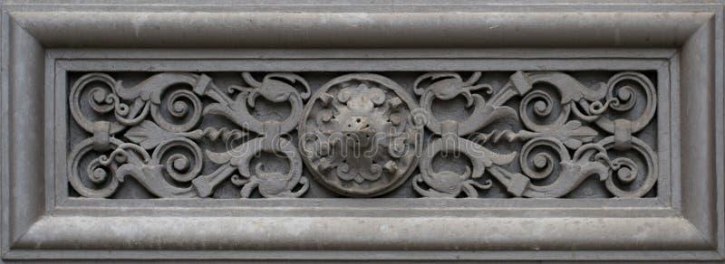 Dekoracja element (Ścienny ornament) zdjęcia royalty free