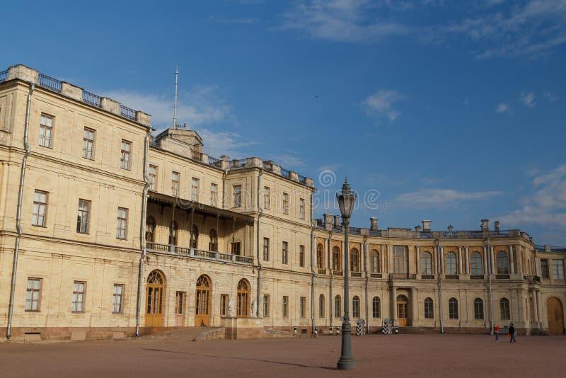 Dekoracja Gatchina pałac zdjęcie royalty free