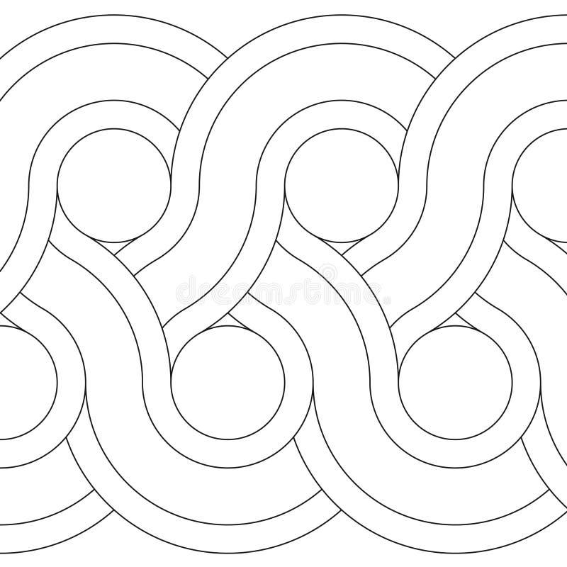 dekoracja geometryczny wektor ilustracja wektor
