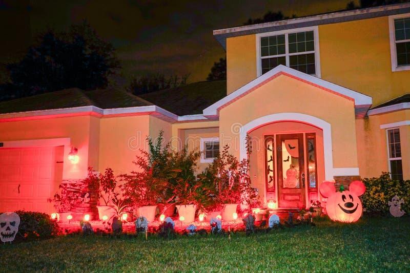 dekoracja Halloween obraz royalty free