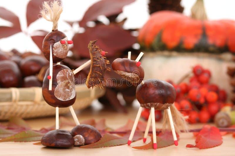 dekoracja jesienią obraz stock