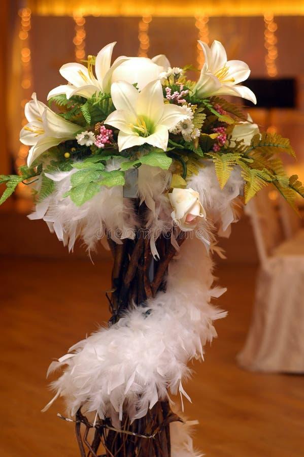 dekoracja kwiat obraz stock