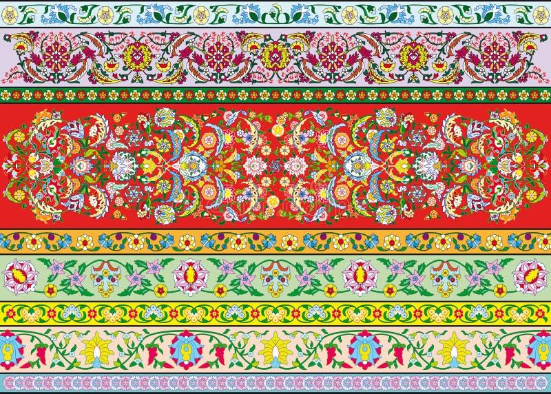 Dekoracja kwiaty royalty ilustracja
