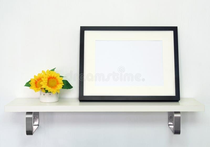 dekoracja obrazek ramowy domowy zdjęcie stock