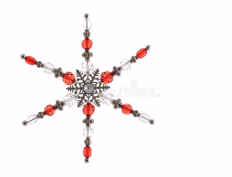 dekoracja płatek śniegu zdjęcia royalty free