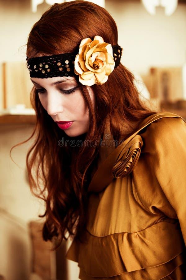 dekoracja włosy fotografia royalty free