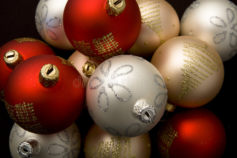 dekoracje świąteczne obraz royalty free