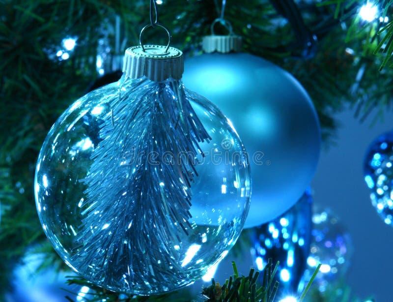 dekoracje świąteczne drzewne obrazy stock