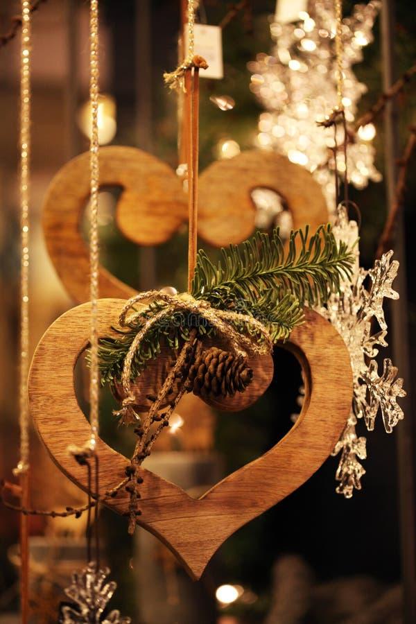 dekoracji świątecznej nowego roku zdjęcia stock