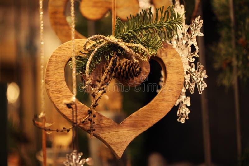 dekoracji świątecznej nowego roku fotografia royalty free