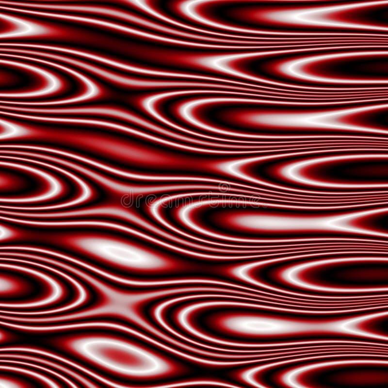 Dekoracyjna płytka bezszwowy wzór z abstrakcjonistycznymi falistymi kształtami fotografia royalty free