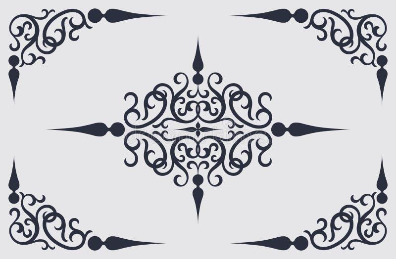 dekoracyjna rama ilustracja wektor