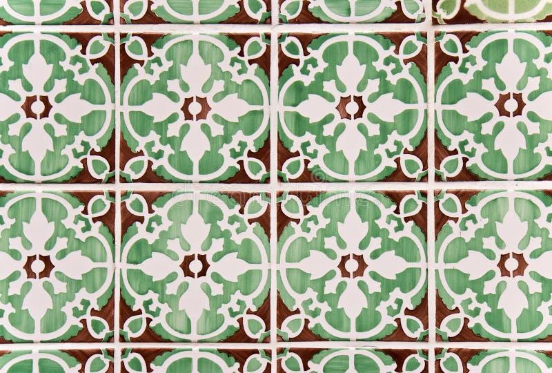dekoracyjne azulejos płytki fotografia stock