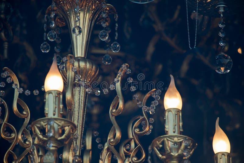 Dekoracyjne stylowe drucik żarówki zdjęcia royalty free