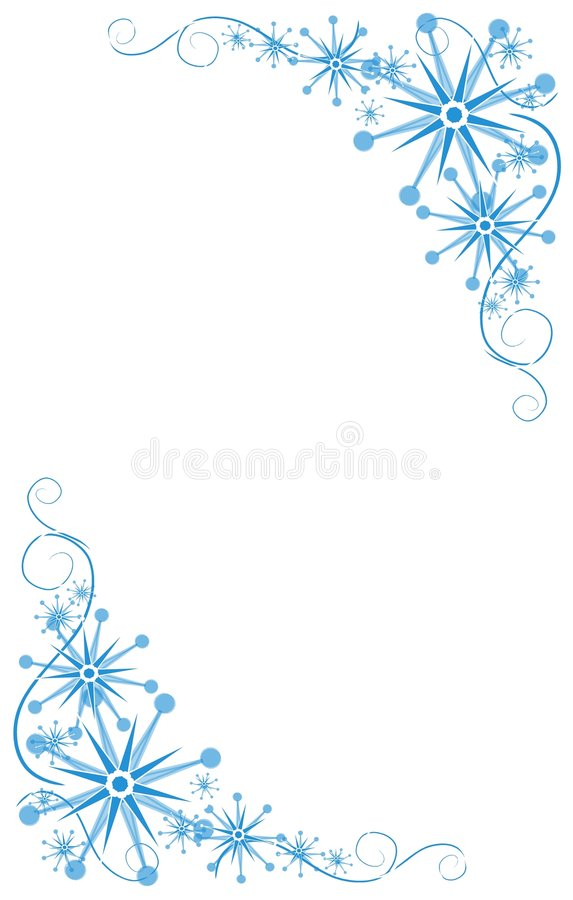 dekoracyjni błękitny kąty royalty ilustracja