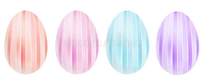 Dekoracyjni jajka dla wielkanocy zdjęcia stock