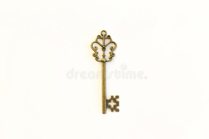 Dekoracyjni klucze różni rozmiary, stylizowany antyk zdjęcia royalty free