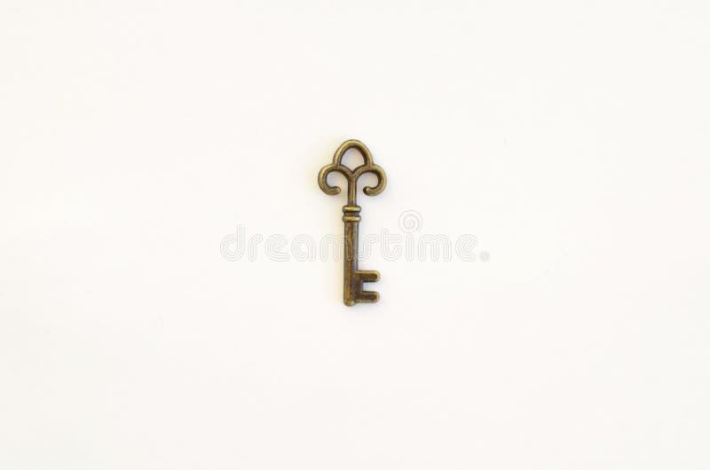 Dekoracyjni klucze różni rozmiary, stylizowany antyk obrazy stock