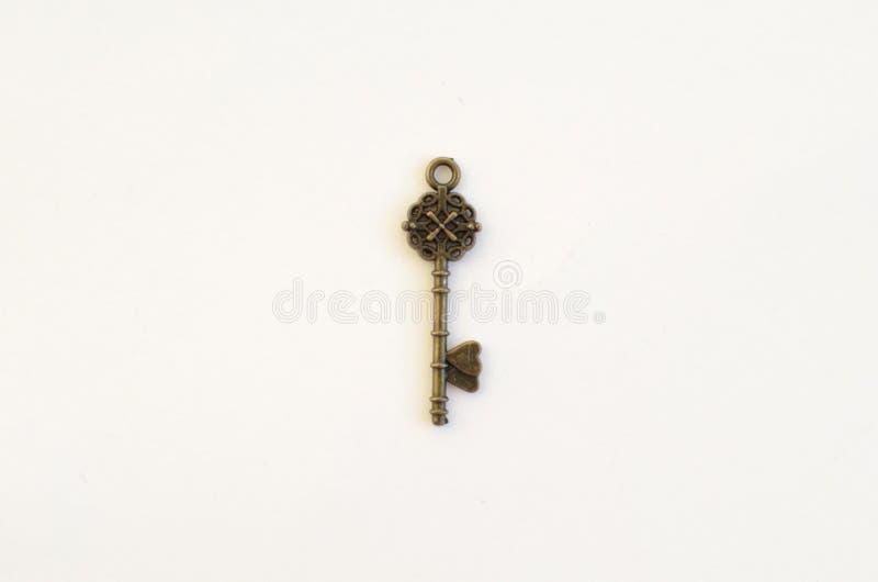 Dekoracyjni klucze różni rozmiary, stylizowany antyk obrazy royalty free