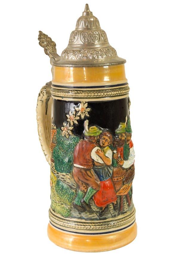 Download Dekoracyjny Bawarski Piwny Stein Ja Obraz Stock - Obraz złożonej z rękojeść, bier: 41955037