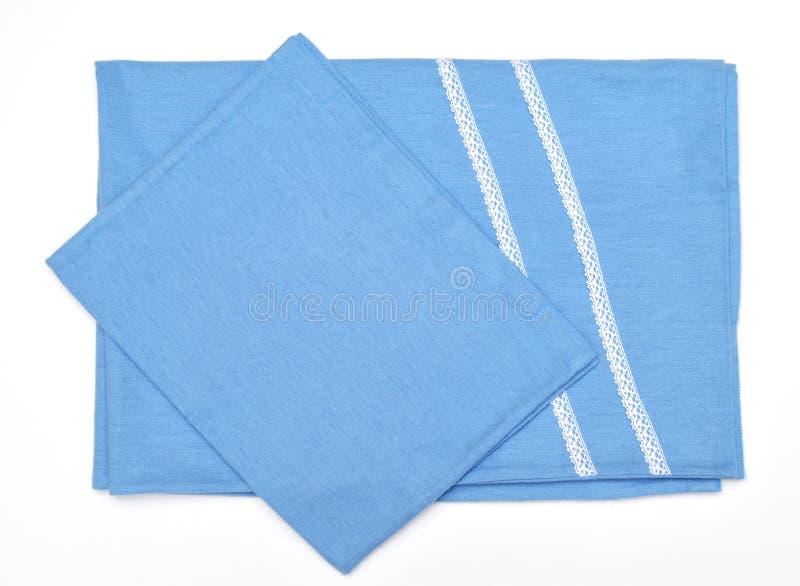 Dekoracyjny bawełniany tablecloth zdjęcie royalty free