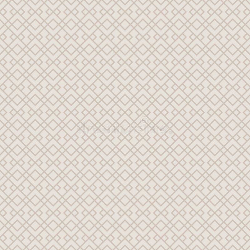 Dekoracyjny Bezszwowy Geometryczny Deseniowy tło ilustracja wektor